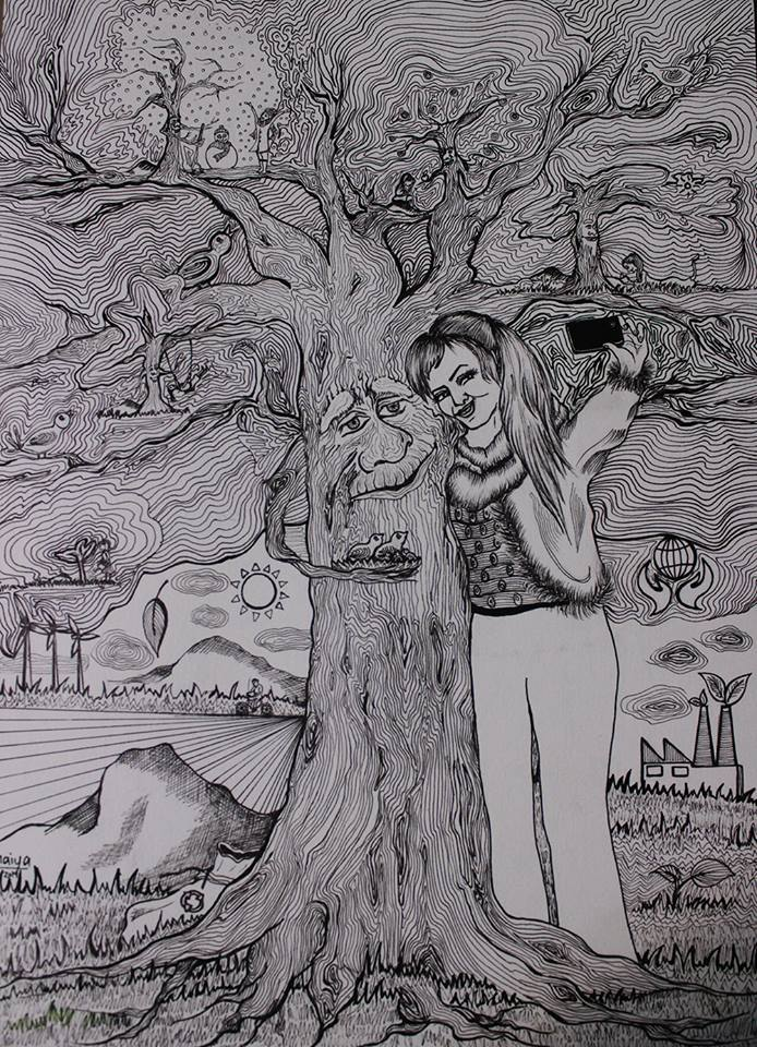2015-My Environment art show by HELP International organization