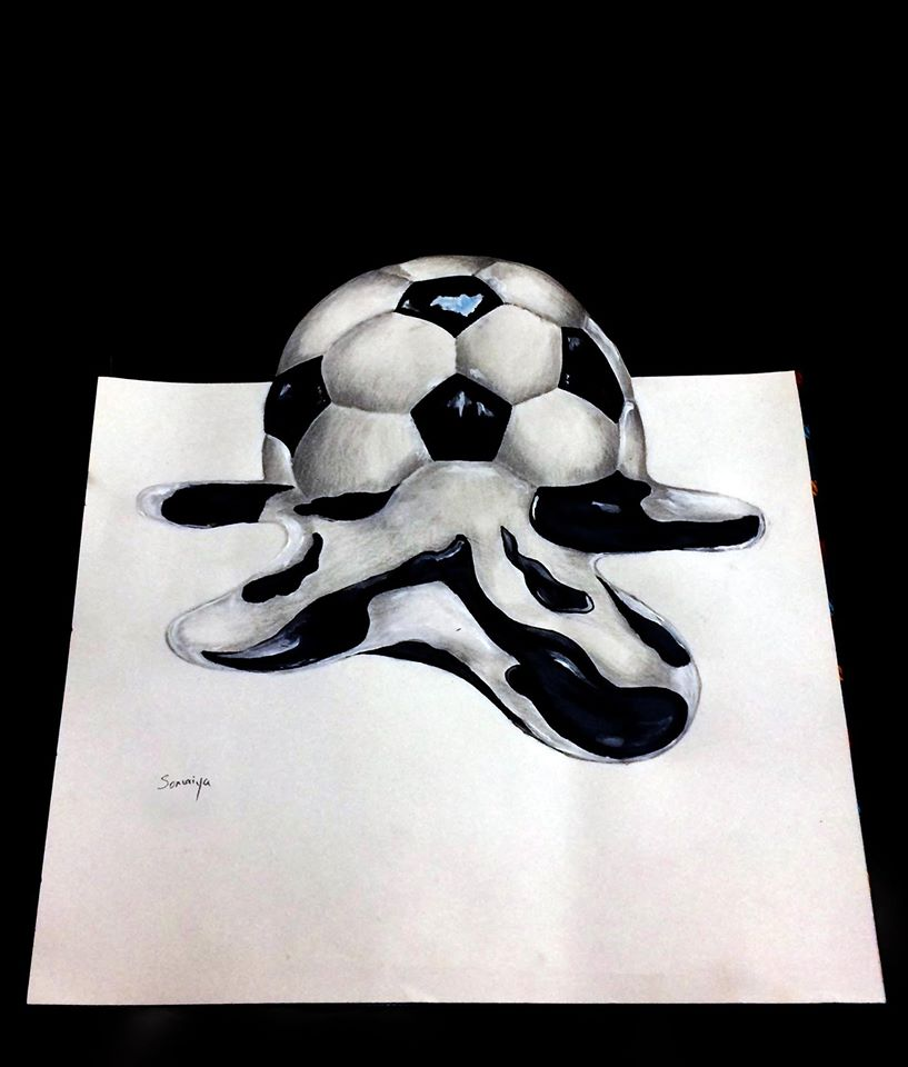 3D painting ball
