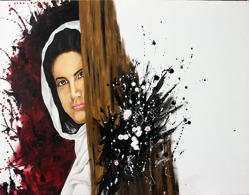 Give peace a chance art exhibition-2014-Afghanistan,Herat